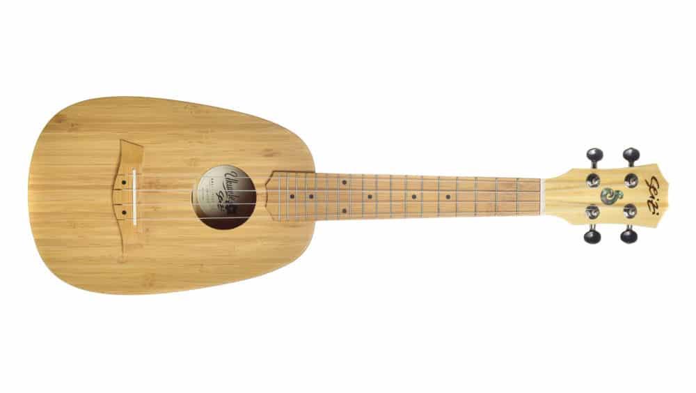 Seizi Ukulele Bali – Pineapple Concert Acústico Solid Bamboo