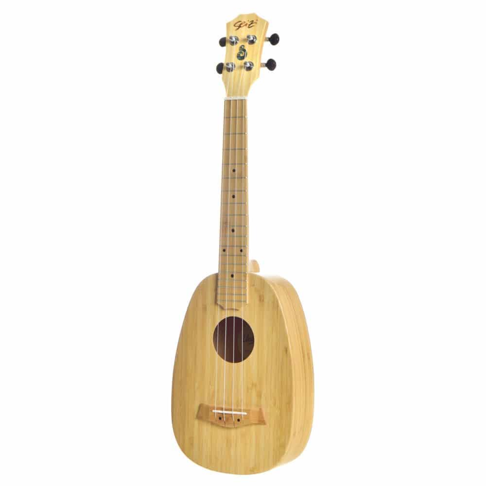 Seizi Ukulele Bali – Pineapple Tenor Acústico Solid Bamboo