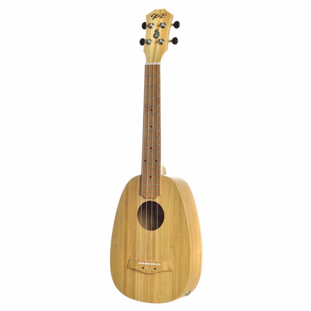 Seizi Ukulele Bali – Pineapple Tenor Elétrico Solid Bamboo