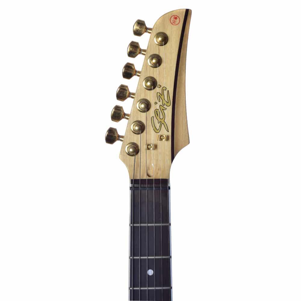 Guitarra Seizi Selection Katana Superstrat Flamed Gold Ltd