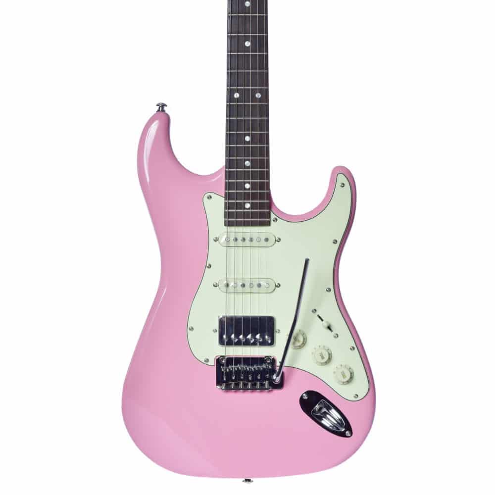 Guitarra Seizi Selection Katana Superstrat Shell Pink Ltd Ed