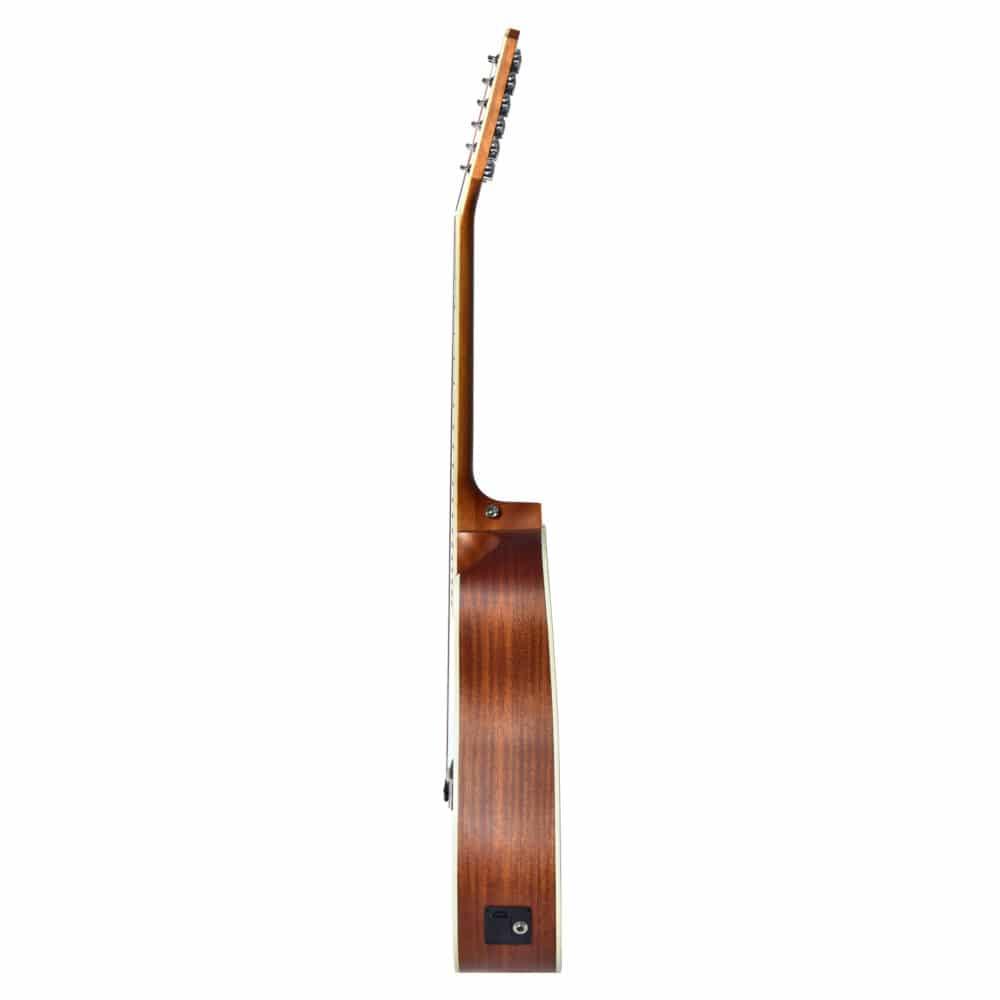 Violão Seizi Akira Half Cutaway 12 cordas – Mahogany Satin Com Bag